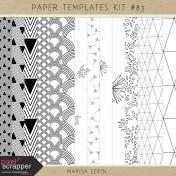 Paper Templates Kit #83