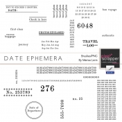 Date Ephemera Brushes