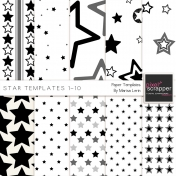 Star Paper Template Kit (1-10)