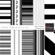 Stripe Paper Template Kit (21-30)