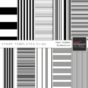 Stripe Paper Template Kit (51-60)