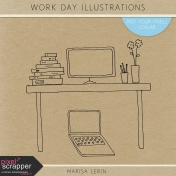 Work Day Illustrations Kit