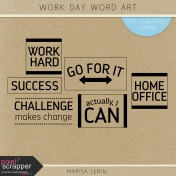Work Day Word Art Kit