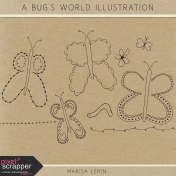 A Bug's World Illustration Kit