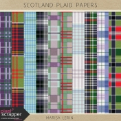 Scotland Plaid Papers Kit