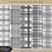 Paper Templates Kit #89- Plaids