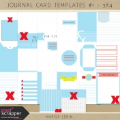 Journal Card Templates Kit #1 (3x4)