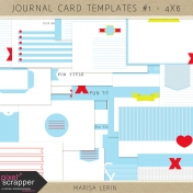 Journal Card Templates Kit #1 (4x6)