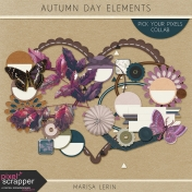 Autumn Day Elements Kit