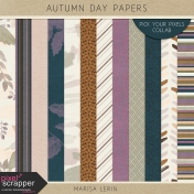 Autumn Day Papers Kit
