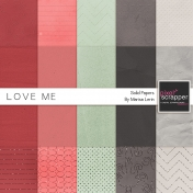 Love Me Solid Papers Kit