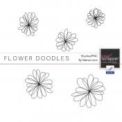 Flower Doodles #1 Kit