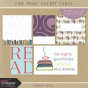 Fine Print Pocket Cards Kit