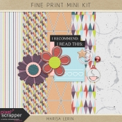 Fine Print Mini Kit
