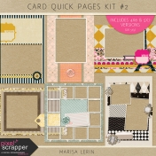 Card Quick Pages Kit #2