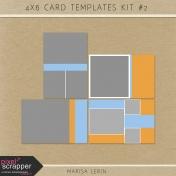 4x6 Card Templates Kit #2