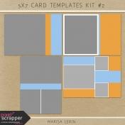 5x7 Card Templates Kit #2