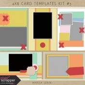 4x6 Card Templates Kit #3