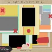 5x7 Card Templates Kit #3