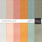 Versailles Solid Papers Kit