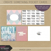 Create Something Pocket Cards