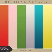Let's Get Festive Solid Papers Kit