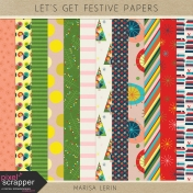 Let's Get Festive Papers Kit
