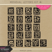 Medieval Letters Kit #1