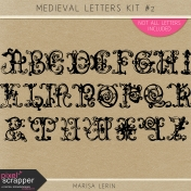 Medieval Letters Kit #2
