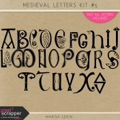 Medieval Letters Kit #5