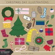 Christmas Day Illustrations Kit
