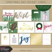 Christmas Day Pocket Cards Kit