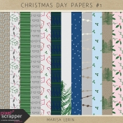 Christmas Day Papers Kit #1