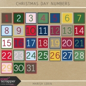 Christmas Day Numbers Kit