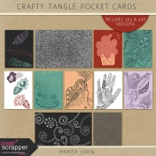 Crafty Evening Tangle Pocket Cards Kit