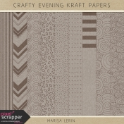 Crafty Evening Kraft Papers Kit