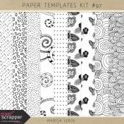 Paper Templates Kit #97
