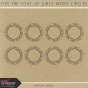 For the Love of Girls Word Circles Kit