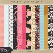 For the Love of Girls Papers Kit