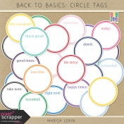 Build Your Basics: Circle Tags