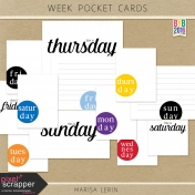 Build Your Basics: Week Pocket Cards