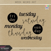 Build Your Basics: Week Word Art