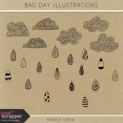 Bad Day Illustrations Kit