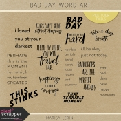 Bad Day Word Art Kit