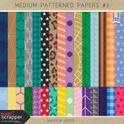 Build Your Basics: Medium Patterned Papers Kit #2
