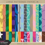 Build Your Basics: Large Patterned Papers Kit #1