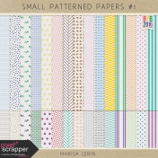 Build Your Basics: Small Patterned Papers Kit #1