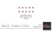 Brad Set #2 Small Circle Kit