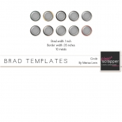 Brad Set #2 Large Circle Kit