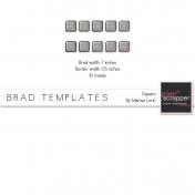 Brad Set #2 Medium Square Kit